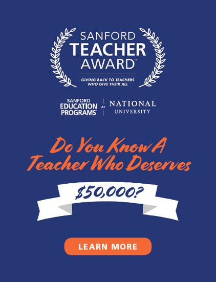 Sanford Teacher Awards