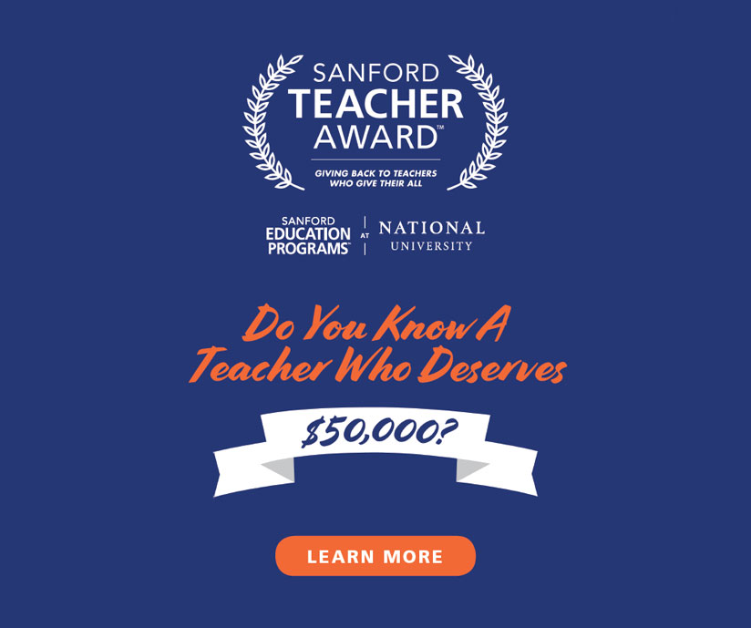 Sanford Teacher Awards