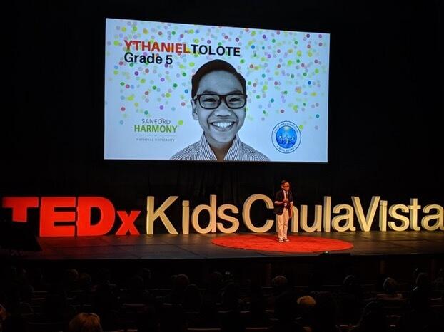 TEDx Kids Chula Vista Event Celebrates Sanford Harmony Principles