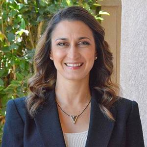 Angela Karem, M.A. Ed., transitional kindergarten teacher at Thurgood Marshall